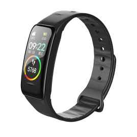 ZORDIK WearFit B1 Black smart watch fitness heart rate sleep monitor blood pressure IP67 gifts