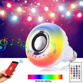 COLOUR CHANGING BLUETOOTH BULB WITH SPEAKER