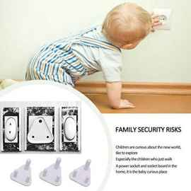 BABY SAFETY ELECTRIC SOCKET PLUG COVER GUARDS SET OF 5