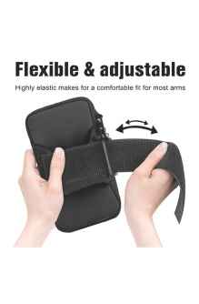 HIGH QUALITY UNIQUE ARMBAND RUNNING WATER RESISTANT WASHABLE MOBILE HOLDER