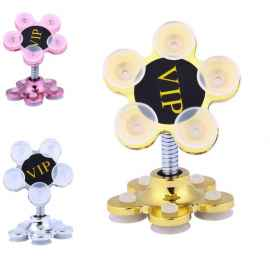 MAGIC SUCTION FLOWER MOBILE STAND RANDOM COLOUR