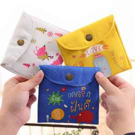 SANITARY NAPKIN POUCH HEAVY QUALITY SET OF 2